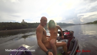 Public anal ride on the jet ski in the city centre. Mia Bandini  mia bandini anal fitness models fuck outdoor anal passionate real sex funny outside public sex blowjob cumshot public small tits college girl doggystyle romantic love making petite teen sexy babe jet ski