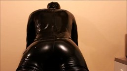 Latex Catsuit Sex With A Soloflesh 4 (Rear View)