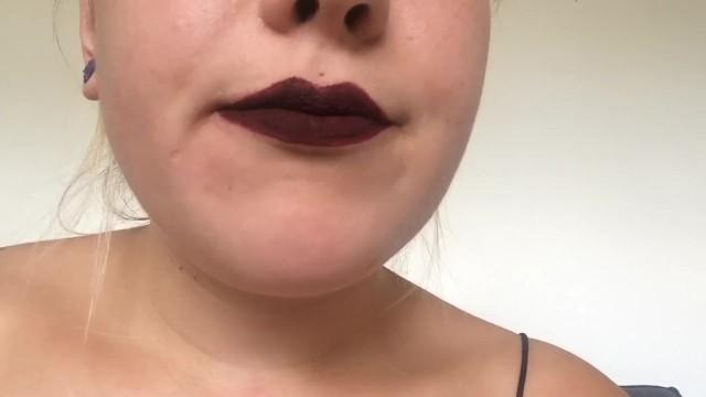 Redmoon lips new smoking video 20