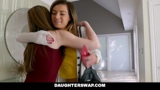DaughterSwap - Horny Step Daughters Drain Their Step Dads Cocks