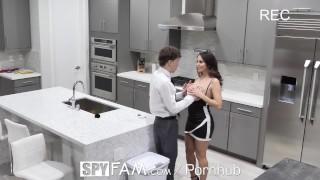 SPYFAM MULTIPLE Step moms FUCKED in SECRET compilation