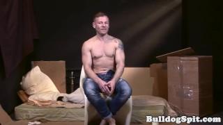 Bound UK bottom gets anally drilled Masturbation wanking