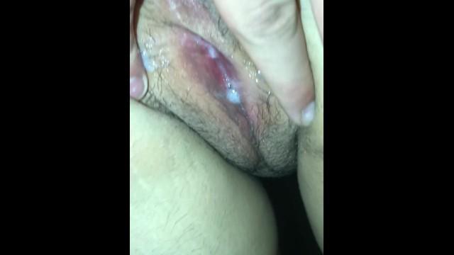 Blonde Tight Pussy Creampie