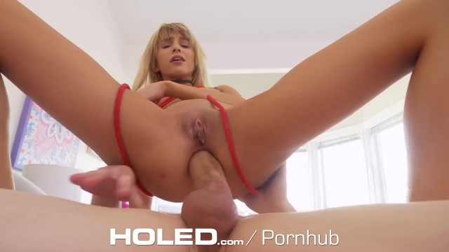 HOLED Roped BACKDOOR pounding with tiny SPINNER 9