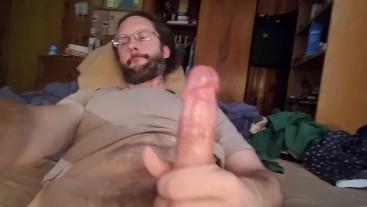 Handheld jerking and cumming