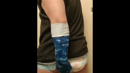 Dayvee Poops His Diaper