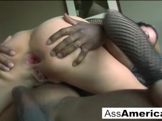Kaylynn likes black cock in the ass