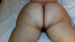 PAWG BIG ASS MAKING BBC CUM