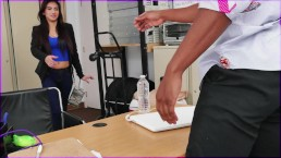 BLACK LOADS - Casting Session With Latin Amateur Michelle Martinez