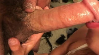 Pussy so good he cums twice!! Deep throat, doggy, cowgirl Tits tits
