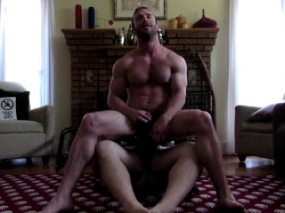 Mike Gaite rimmed and fucked by a bear