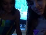 Teen Best Friends Hang Out After School - Sofie Reyez & Kitty Carrera