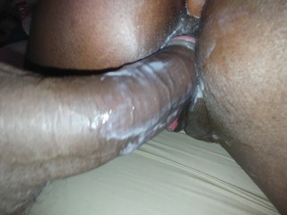 Anal Sex My wife little sister first time anal with my Big Black Dick.