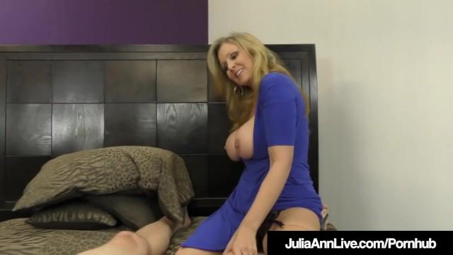 FemDom Mistress Ms. Julia Ann Wont Allow Her Hubby To Cum! 15