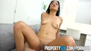 Propertysex fucks younger sister insane hot wife's landlord blowjob propertysex