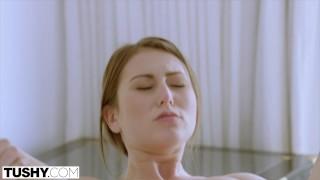 Compilation tushy amazing anal brunette tits