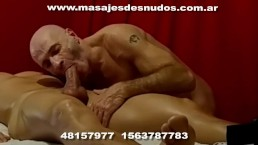 MASAJES FINAL FELIZ CON CHUPADA DE PIJA