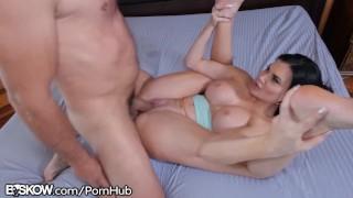 Fat Daddy Dick Cumshot 4 Big Tit English MILF Jasmine Jae