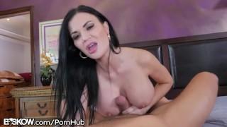 Fat Daddy Dick Cumshot 4 Big Tit English MILF Jasmine Jae Boobs big