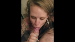 Amithyst Sucks Cock and Gets Fucked In a Hotel Room and Loves It!!!