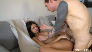 Creampie fuck ibarra intense eliza tape blowjob riding