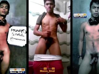 Hot asian filipino model jerk off scandal...