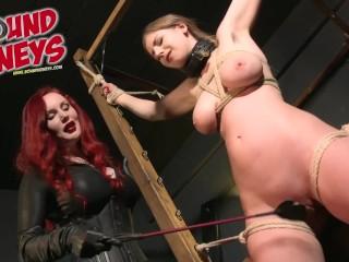 Breaking in Stella Cox - Slave Session ft Mistress Hel 4K Trailer