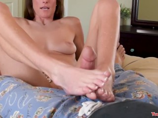Step Mom Foot Job
