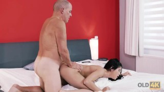 Pleasure is old for brunette needed oldk what cock boyfriend's style round