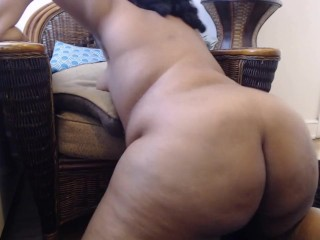 Ebony BBW Twerking Naked