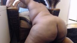Ebony BBW Twerking Naked
