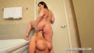 Sara Jay And Alura Jenson Lesbian Together HD