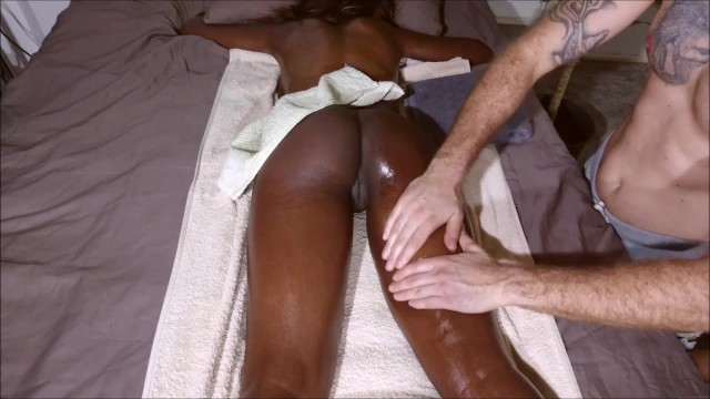 Butt cum fuck Hot amateur student with bubble butt get massage until anal creampie