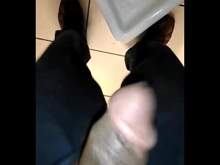 Pee break at my night job (1:30am)