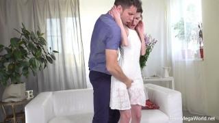 Preview 3 of Anal-Beauty.com - Nelya - Fresh sperm instead of dinner
