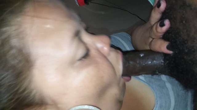 Slobbering on his dick 8