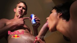 Danny D drinks Red Bull