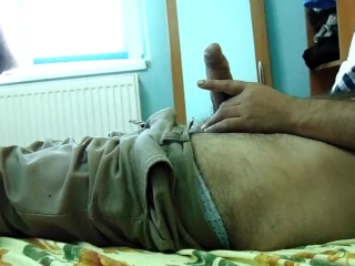 morning masturbation and cumming