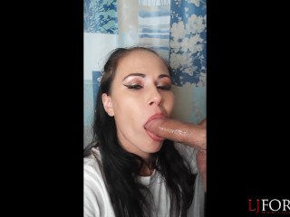 Sloppy Selfie Blowjob - LJFOREPLAY