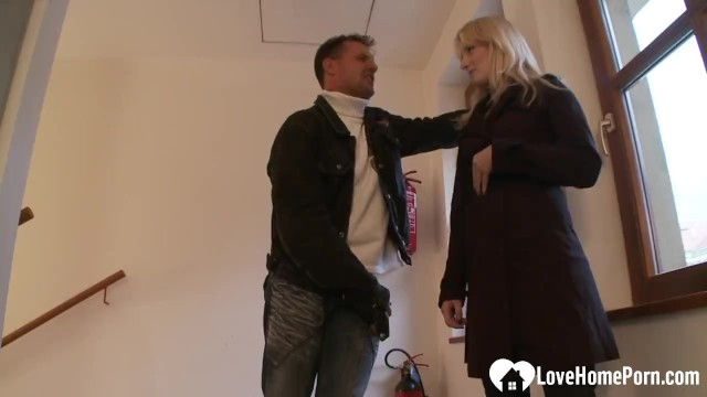 Blonde woman is quite cum thirsty and hot 11