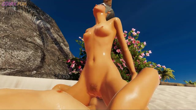 Download Gratis Video  Brother and sister at the beach