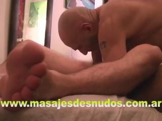 MASAJE DE PENE CON CHUPADA RELAX