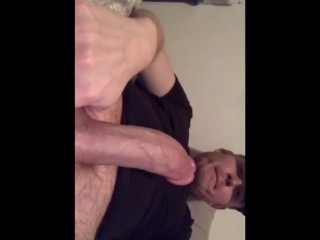 Straight friend sending videos to get me off