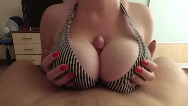 I Love Big Tits Fuck And Cum On Tits - Pov - Pornhubcom-8979