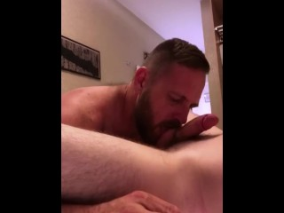 Seattle Dad and British Lad meet up and get naked