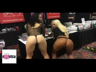 King Noire with Brittany Baxter Exxxotica Expo 2018