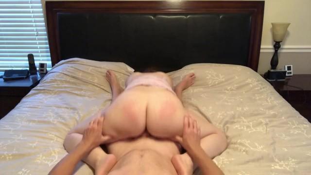 Milf Reverse Cowgirl Orgasm