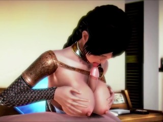 warrior woman chinlang fucked and creampie (Vgirl)