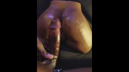 BBC Fucking My Small Black Booty Toy