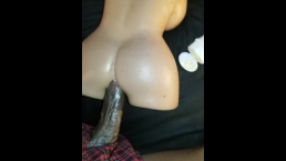BBC Fucking My Little White Doll Toy